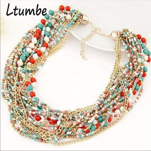 Jewelry - American Statement Beaded Necklace